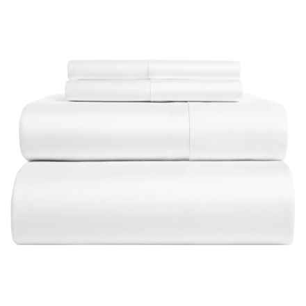 Home Dynamix Egyptian Cotton Sheet Set - Queen, 850 TC in White - Closeouts