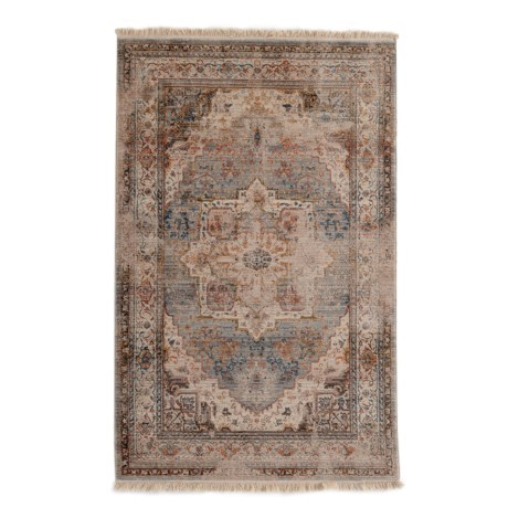 """Home Dynamix Rutherford Border Collection Accent Rug - 3'3""""x5'2"""" in Beige"""