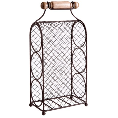 Home Essentials 3-Tier Tabletop Wine Rack - 15""