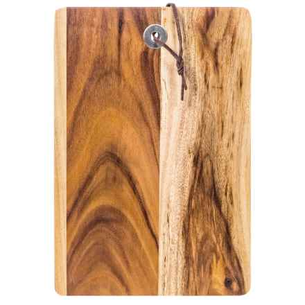 """Home Essentials & Beyond Home Essentials Acacia Rectangle Cutting Board - 10"""" in Natural - Overstock"""