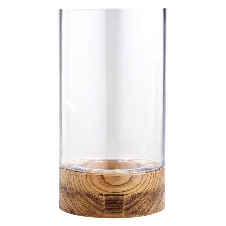"Home Essentials & Beyond Hurricane Candle Holder - 14"" in Natural"