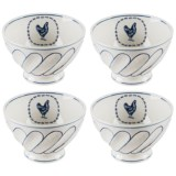 Home Essentials & Beyond Rooster Cereal Bowl - Set of 4