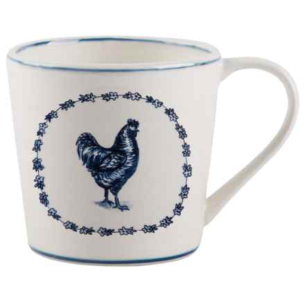 Home Essentials & Beyond Rooster Mug - 20 oz. in White - Closeouts