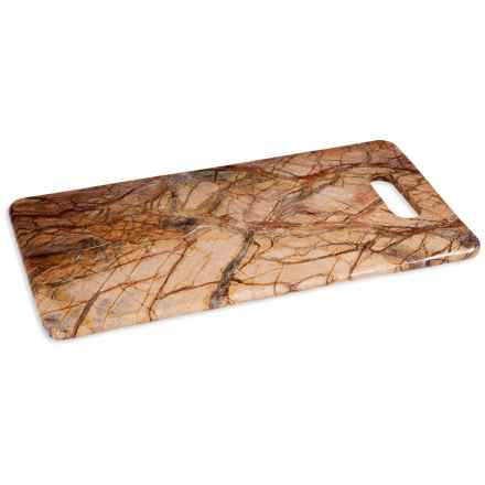 """Home Essentials Cheese Board - 18"""" in Brown Forest - Closeouts"""