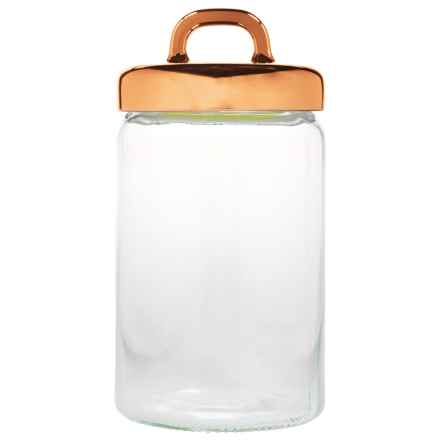 Home Essentials Copper Loop Canister - 54 oz. in Copper - Closeouts