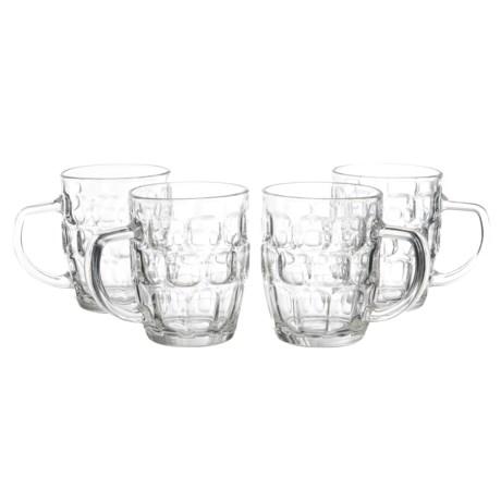 Home Essentials Draft Beer Mugs - 22 fl.oz., Set of 4 in See Photo