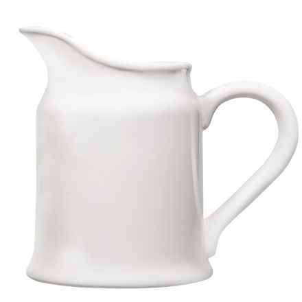Home Essentials Messina Porcelain Pitcher - 64 fl.oz. in White - 2nds