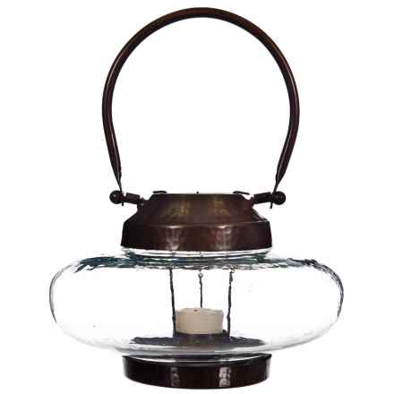 Home Essentials Tilburg Lantern - Short in Copper - Overstock