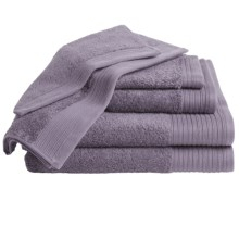 Home Source International Supima® Cotton Towel Set - 6-Piece in Smoked Pearl - Overstock