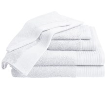 Home Source International Supima® Cotton Towel Set - 6-Piece in White - Overstock