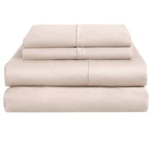 Home Source International Ultrafine Cotton Sheet Set - King, 400 TC in Ivory - Overstock