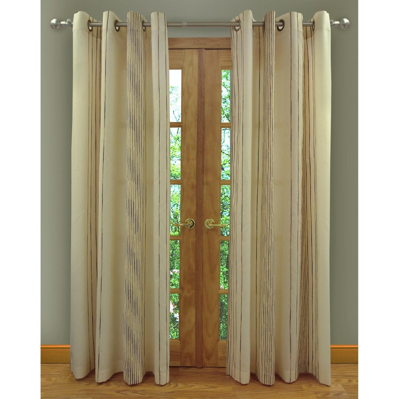 home studio ambiance taffeta curtains 104x84 grommet top chenille