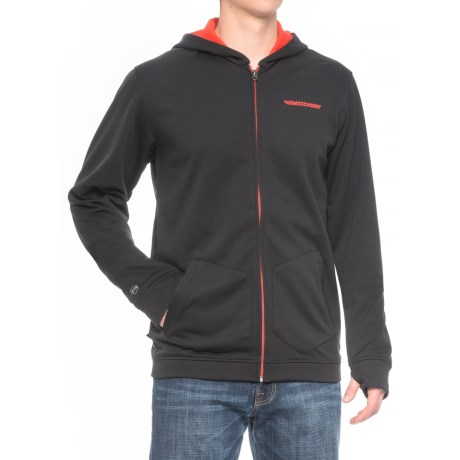 Homeschool Brigade Riding Hoodie - Full Zip (For Men) in Night