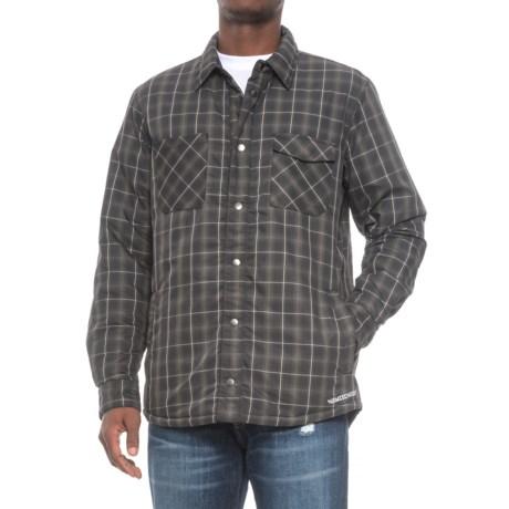 Homeschool Cinder Reversible Shirt Jacket - Insulated (For Men) in Night