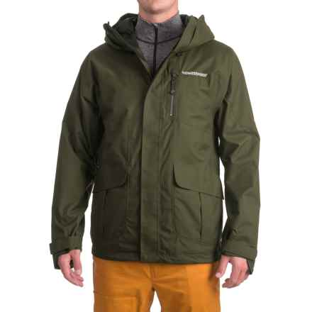 Homeschool Factory Parka - Waterproof (For Men) in Forest - Closeouts