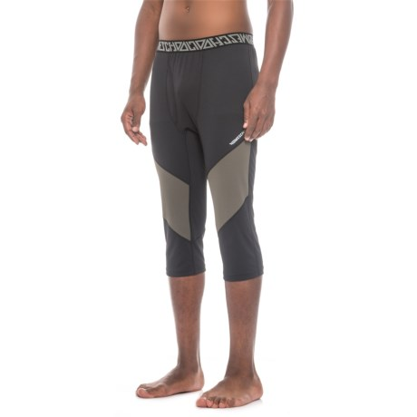 Homeschool Loudmouth Shant Base Layer Capris (For Men) in Devoid/Night