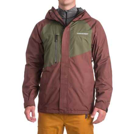 Homeschool Vices Jacket - Waterproof (For Men) in Baron/Forest - Closeouts