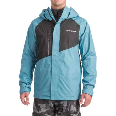 Homeschool Vices Jacket - Waterproof (For Men) in Frost/Night - Closeouts