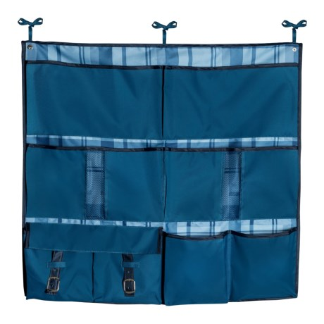 Honey Can Do 2-in-1 Bed Organizer in Blue