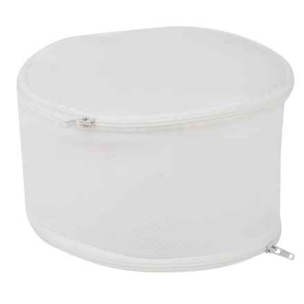 Honey Can Do Bra Wash Bag in White - Closeouts