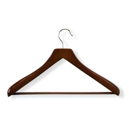 Honey Can Do Deluxe Contoured Suit Hanger in Cherry - Closeouts