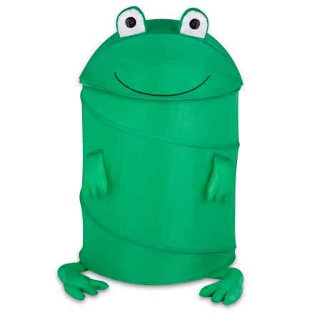 Honey Can Do Frog Pop-Up Hamper - Large (For Kids) in Green - Closeouts