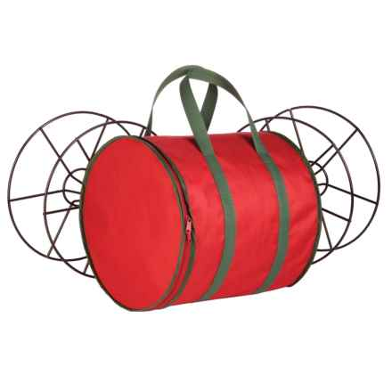 Honey Can Do Holiday Lights Storage Reels and Bag in Red - Closeouts