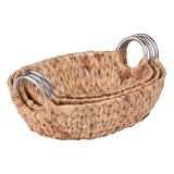 Honey Can Do Oval Nesting Baskets - Set of 3