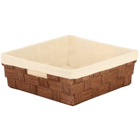 """Honey Can Do Paper Rope Tray - 14.96x12.99x5"""" in Brown"""