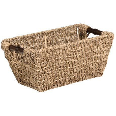Honey Can Do Seagrass Storage Basket - Small in Natural