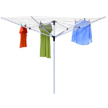 Honey Can Do Umbrella Outdoor Clothesline Dryer in See Photo - Closeouts