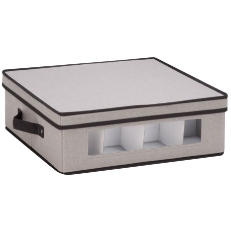 Honey Can Do Window Storage Box - Large in Grey