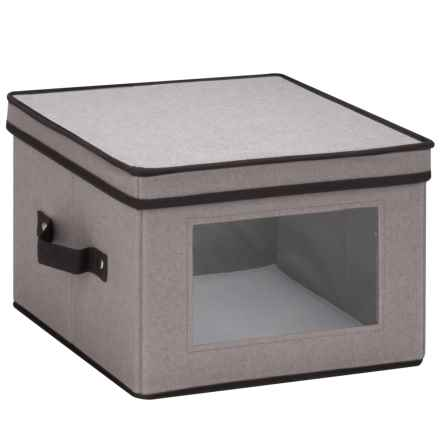 Honey Can Do Window Storage Box - Medium in Grey - Closeouts