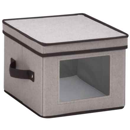 Honey Can Do Window Storage Box - Small in Grey - Closeouts