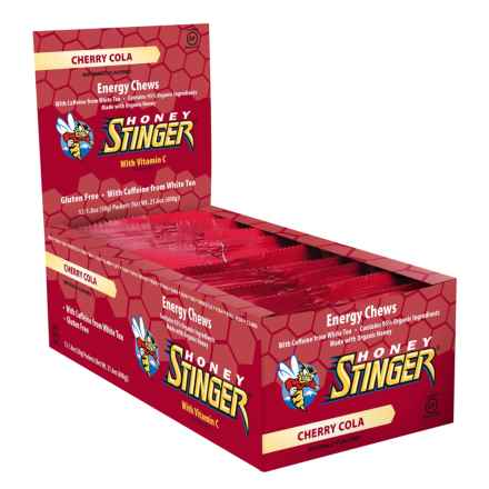 Honey Stinger Caffeinated Cherry Cola Energy Chews - Box of 12 in Cherry Cola- Caffeinated - Closeouts