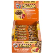 Honey Stinger Cran-apple and Walnut Snack Bars - Box of 15 Bars in Peanut Butter And  Jelly - Closeouts