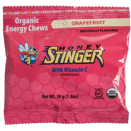 Honey Stinger Energy Chews - Single in Grapefruit