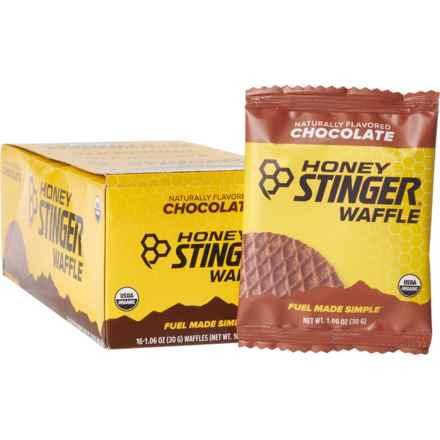 Honey Stinger Organic Chocolate Waffles - Box of 16
