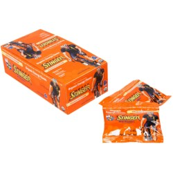 Honey Stinger Organic Energy Chews - Box of 12 in Orange