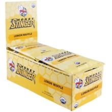 Honey Stinger Organic Energy Waffle - Box of 16 in Lemon - Closeouts