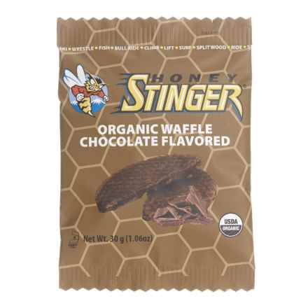 Honey Stinger Organic Energy Waffles - Box of 16 in Chocolate - Closeouts