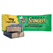Honey Stinger Protein Bar - Box of 15 in Dark Chocolate/Mint Almond - Closeouts