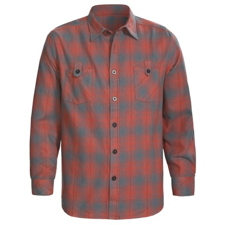 Honolua Leucadia Shirt - Long Sleeve (For Men) in Marine