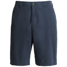 Honolua Tidal Twill Chino Shorts (For Men) in Midnight - Closeouts