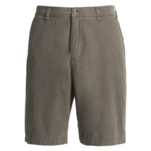 Honolua Tidal Twill Chino Shorts (For Men) in Surplus - Closeouts