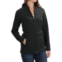 Hooded Fleece Parka (For Women) in Black - 2nds