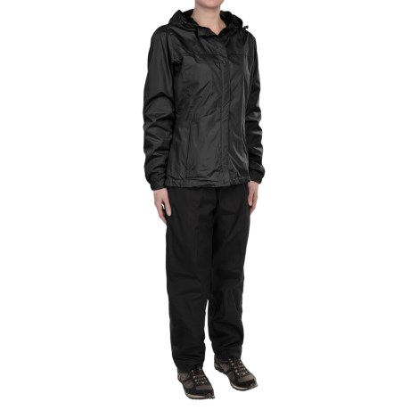Hooded Jacket and Pant Set - Packable (For Women)