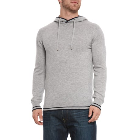 Image of Hooded Pullover Shirt - Long Sleeve (For Men)