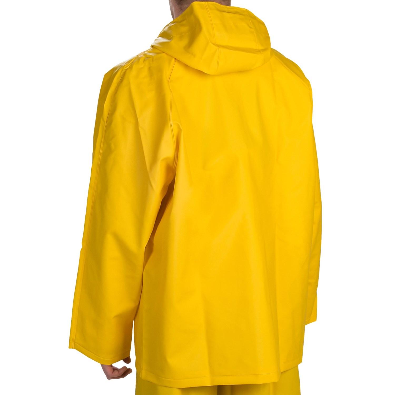 Hooded Rain Jacket (For Men) 9530G