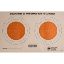 Hoppe's 50 Yard Small Bore Targets - 20-Pack in See Photo - Closeouts